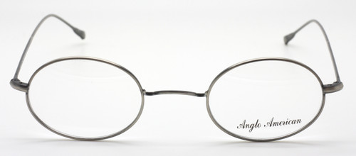 Vintage Style W Bridge Oval Shaped Glasses By Anglo American At The Old Glasses Shop