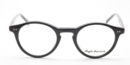 Anglo American 406 Panto Shaped Vintage Style Glasses Frames At www.theoldglassesshop.co.uk