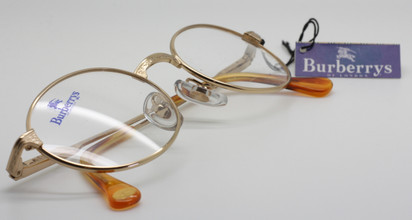 Burberry B8754 in shiny gold from www.theoldglassesshop.co.uk