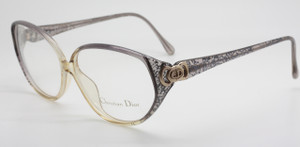 Christian Dior 2872 Grey/Silver Large Eye Glasses At www.theoldglassesshop.com