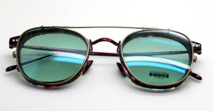 ULISSE Frame And Sun Clip By Les Pieces Uniques At The Old Glasses Shop