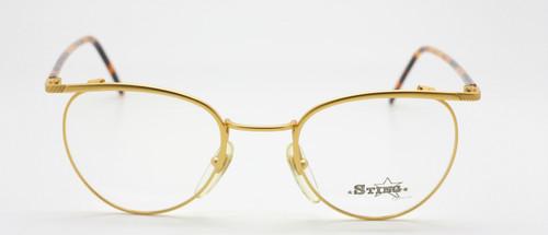 Sting 316AP Frame In Matt Gold At The Old Glasses Shop