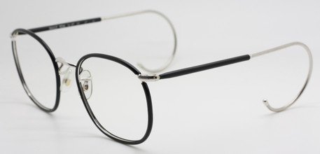 Vintage Savile Row Quadra Frames With Beaufort Curlside Temples At The Old Glasses Shop
