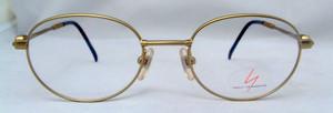 Yohji Yamamoto 4108 Gold Designer Vintage Glasses