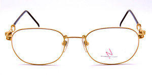 Yamamoto 4113 51 22KT gold plated frames