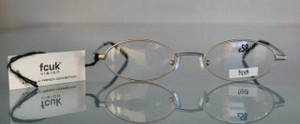 French Connection FCUK OFK41 silver metal designer glasses from The OLd GLasses Shop Ltd
