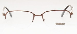 DOLCE & GABBANA D&G Half Rim Designer Eyewear