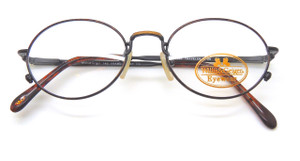 Willis and Geiger Traveler 1 prescription vintage glasses in Demi Brown from The Old Glasses Shop Ltd