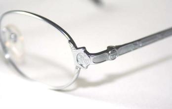Jean Paul Gaultier 5104 vintage oval metal designer eyewear