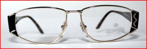 Winchester retro gold and turtle designer frames