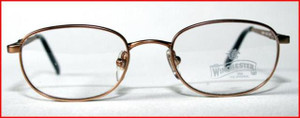 Winchester oval style gold designer frames for children