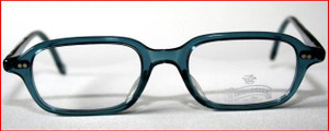 Winchester vintage green acrylic rectangle designer spectacles