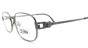 Jean Paul Gaultier 6107 vintage gunmetal grey metal designer eyewear