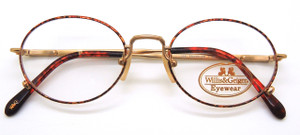 Willis and Geiger Traveller vintage eye glasses from www.theoldglassesshop.com