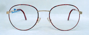 Burberry B8821 gold and dark tortoiseshell metal vintage designer glasses