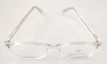 Clear Acrylic glasses frames from The OLd GLasses Shop Ltd