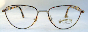 Winchester Soledad Vintage Designer Turtlei Metal Framed Glasses