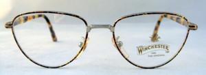 Winchester Soledad Vintage Designer Turtlei Metal Framed Glasses