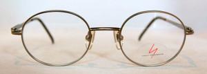 Yohji Yamamoto 6103 Matt Grey Vintage Designer Metal Glasses