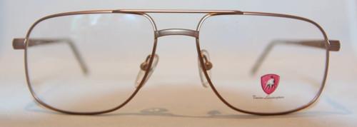 Tonino Lamborghini 064 Classic Aviator Style Bronze Metal Frames