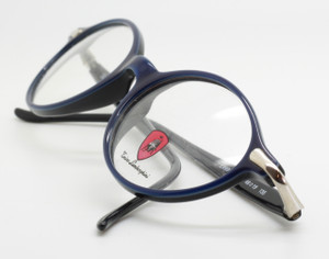 Tonino Lamborghini 044 Vintage Blue Acrylic Oval Designer Glasses from www.theoldglassesshop.co.uk