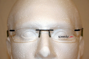 Genuine Speedo Designer Rimless Frames