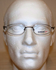 Speedo Silver Oval Metal Framed Spectacles