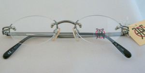 Jean Paul Gaultier Spectacles 7101 in Gunmetal finish from www.theoldglassesshop.co.uk
