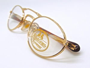 Willis and Geiger Hemingway prescription eye glasses from www.theoldglassesshop.com