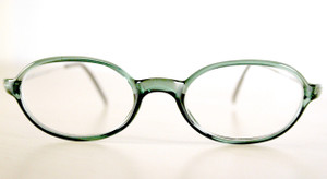 Prescription glasses in Green Acrylic Winchester Frames