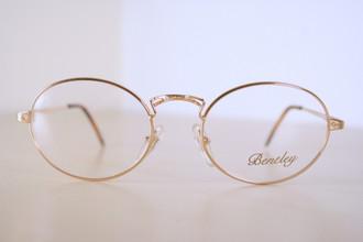 Unique Bentley Gold Spectacles