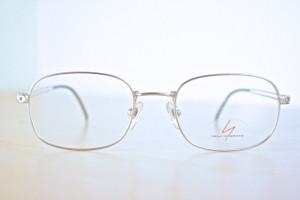Silver Square Yamamoto Prescription Eyeglasses