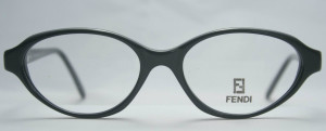 Vintage Oval Designer Fendi Glasses Frames At The Old Glasses Shop