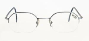 Forma mentis Grey Half Rim Frames