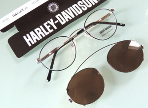 Harley Davidson vintage glasses eyewear with clipons