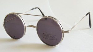 Savile row clip-on sunglasses