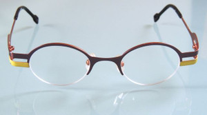 Sara-Eliris classic design in two tone metal frames