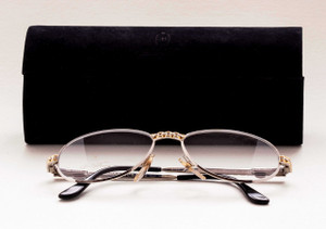Classic luxury Bugatti eyeglasses from The Old GLasses Shop Ltd