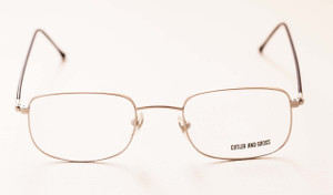 Front View Cutler and Gross 0514 Silver eyeglasses