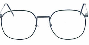 front view Avalon blue metal vintage frame