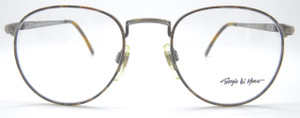 Vintage Giorgio Di Marco Metal Pewter Colour Frames With Multi Colour Rims