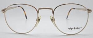 Giorgio Di Marco Gold Large rim frames