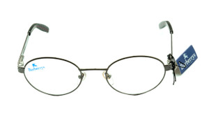 Burberry green metal frames