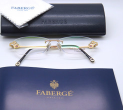 Faberge rimless eye glasses from The Old Glasses Shop Ltd