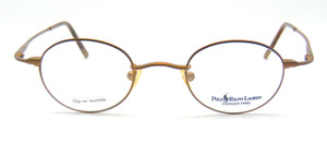 bronze colour polo frames from The Old Glasses Shop