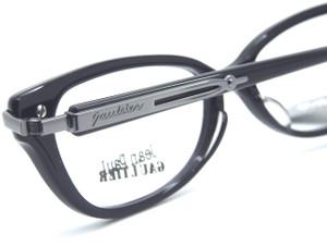 Fabulous JPG black acrylic glasses