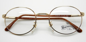 Deep Oval Winchester Forever Gold Frames At The Old Glasses Shop