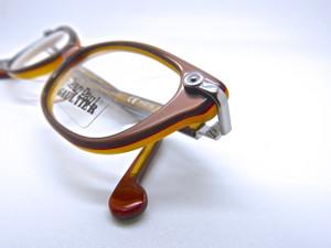 LAST PAIR Jean Paul Gaultier Cat Eye Style Two Tone Prescription Eyewear