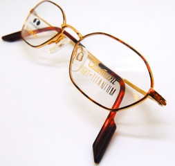 Wonderful hexagonal shaped frames from the Old Glasses Shop