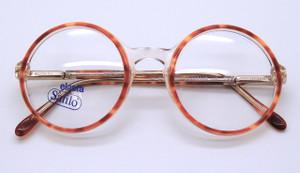 Vintage true round eyeglasses